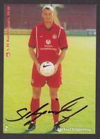 Michael Schjönberg, Autogrammkarte des 1. FCK, Saison 1999/2000, Original!