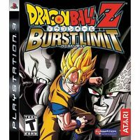 Dragon Ball Z: Burst Limit (Sony PlayStation 3, 2008) - FAST & FREE DELIVERY!