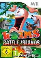 Worms: Battle Islands (Nintendo Wii, 2011, DVD-Box)