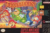 Troddlers (Super Nintendo Entertainment System, 1993) TESTED