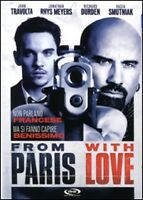 Dvd **FROM PARIS WITH LOVE** con John Travolta nuovo 2009