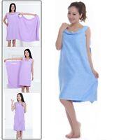 Serviette de bain magique vêtements plage robe adultes taille: 150 x 80cm bleu
