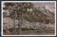 Belluno Cortina Foto cartolina D9304 SZI