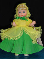 "MADAME ALEXANDER DOLL 8"" DAFFY DOWN DILLY #429"