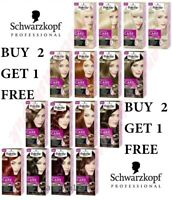 BUY 2 GET 3 Schwarzkopf Palette Perfect Care Colour Cream Hair Dye NO Ammonia