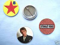 Paul Weller-Stanley Road 3 Badge Set The Jam Oasis Mod