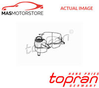 202 258 TOPRAN COOLANT EXPANSION TANK RESERVOIR G NEW OE REPLACEMENT