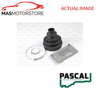 G5F005PC PASCAL CV JOINT BOOT KIT I NEW OE REPLACEMENT