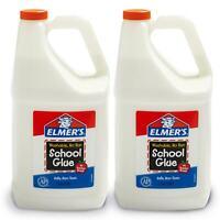 Elmer's Liquid School Glue, Great For Making Slime, White, Washable, 1 Gallon, 2