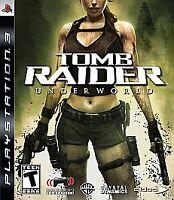 Tomb Raider: Underworld - Sony PlayStation 3 PS3 Action / Adventure Game