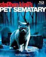 Pet Sematary (Blu-ray Disc, 2013)Oop Rare