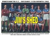 PORTSMOUTH F.C. TEAM PRINT 1962 - DIVISION 3 CHAMPIONS