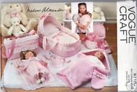 "Madame Alexander Baby Doll Pattern  14""    8710"