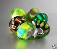 ORIGINAL  TROLBEAD TROLLBEADS  * GRÜNES SET * retired *