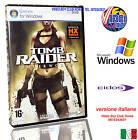 TOMB RAIDER UNDERWORLD PC DVD WINDOWS @@ NUOVO ITALIANO