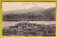 E FUENTERRABÍA GUIPÚZCOA El Rio Bidasoa 1915 ca ANTIGUA