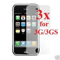 3X Clear Screen Protector for Apple iPhone 3G/3GS