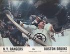 1972-73 RANGERS vs Boston BRUINS NHL Hockey Program