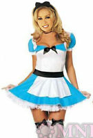 NEW! ALICE IN WONDERLAND Maid Costume Dress Size 12 14