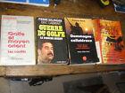 lot de 4 livres sur le golfe et la guerre du golfe