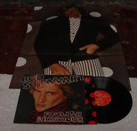 ROD STEWART:LP-FOOLISH BEHAVIOUR-ORIGINAL+POSTER EX