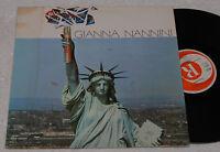GIANNA NANNINI:LP-CALIFORNIA-1°ST GERMANY 1979 EX