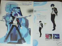 PERSONA 3 III MATERIAL GUIDE GAME ART BOOK JAPAN