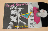 ROD STEWART:2LP-ABSOLUTELY LIVE-1°PRESS+INNER TOP EX