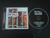 The fall/Your future our clutter 9-Track Promo/CD
