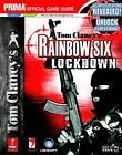 Rainbow Six Lockdown PS2/Xbox Strategy Guide Brand New