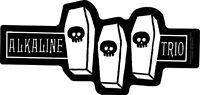 New Genuine ALKALINE TRIO - Coffins VINYL STICKER Decal