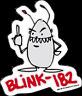 New Genuine BLINK 182 Middle Finger Vinyl STICKER Decal