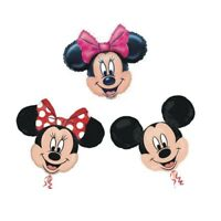34inch Mickey and Minnie Mouse Shaped Foil Balloons
