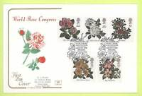 G.B. 1991 Roses Cotswold First Day Cover, Belfast