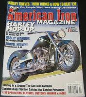 American Iron Magazine October 2002