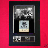 THE JAM Signed Autograph Mounted Photo Repro A4 Print 187