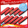10 X 12V WATERPROOF RED 6-LED MARKER/TRAILER/TRUCK/COURTESY/UTE LIGHTS - BULK