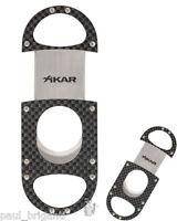 XiKAR ZX 108CF Ultra Slim Carbon Fiber 64rg Cigar Cutter Lifetime Warranty