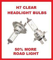Peugeot 206 98-06 Dip/Low Main/High Beam Headlight Bulbs Headlamp 12V 55W H7 Hal