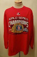 2011 World Series Champions St. Louis Cardinals  Small   Longsleeve T-Shirt
