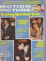 JUNE 1976 MOTION PICTURE movie magazine LIZ TAYLOR - MICHAEL DOUGLAS