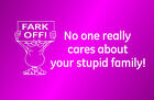 STICK FIGURE FAMILY decal - Funny car window sticker