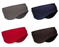 THINSULATE FLEECE SKI HEADBAND HAT BLACK Mens Ladies warm snowboarding ear muffs