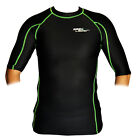 BASE LAYER COMPRESSION SKINS SHORT SLEEVE | GYM CYCLING RUNNING BASELAYER SPORTS