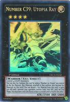 Yugioh ORCS-EN040 Number C39: Utopia Ray Ghost Rare Card