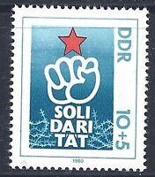 DDR Mi. 2548 Faust, Stern, Stacheldraht