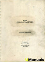 Elox Fundamentals of EDM Training Workbook