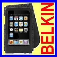 Belkin Leather Folio Flip Case for iPod Touch 3G 2G 2nd 3rd F8Z396 Black