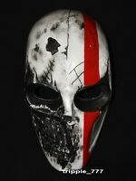 ARMY of TWO PAINTBALL AIRSOFT BB GUN COSTUME COSPLAY MASK - White commando MA80