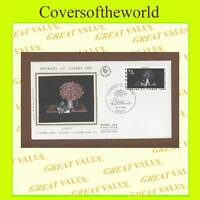 France 1980 Stamp Day, Avati, silk First Day Cover
